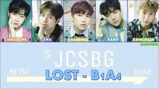[THAISUB] B1A4 - LOST [Color Coded Lyrics(Han/Rom/Thai)] ซับไทยเพลง...