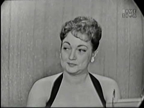 What's My Line? - Dorothy Lamour; Martin Gabel [panel]; Bob Crosby [panel] (Jul 13, 1958)