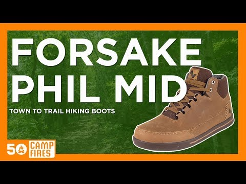 Forsake Phil Mid Boots : Stylish Town To Trail Boot Review