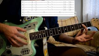 King Krule - Energy Fleets Guitar Lesson