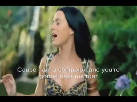 Katy Perry - Roar Official Video Lyrics