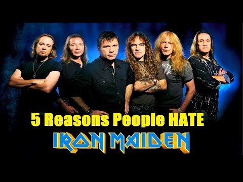 5 Reasons People Hate IRON MAIDEN