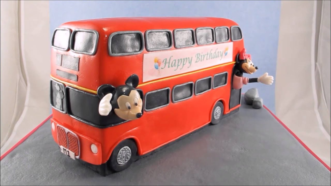 Permalink to London Bus Cake