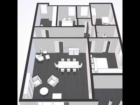 Mehrwertmakler Immobilien - Hannover List - Immobilienverkauf mit Mehrwert - 3D Grundriss
