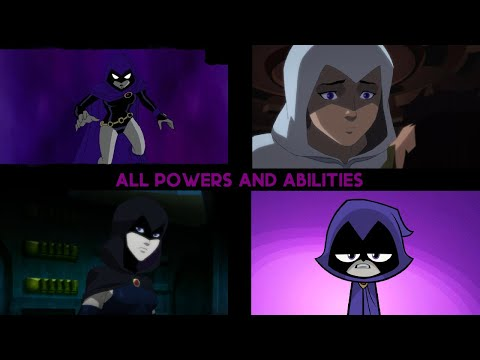 Raven - All Powers and Abilities from DC Animation