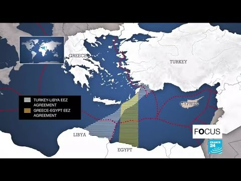 Tensions escalate between Greece and Turkey in eastern Medit
