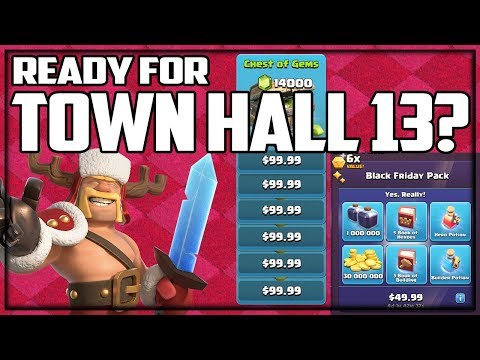READY For Town Hall 13? Clash Of Clans Update NEW Season!