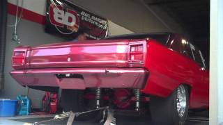 Drag Car Dyno Run VIDEO #2 - Central-Jersey-Shore Big Daddy Performance