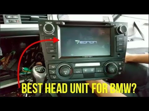 The Best Touch Screen Head Unit for your BMW // Eonon GA7165