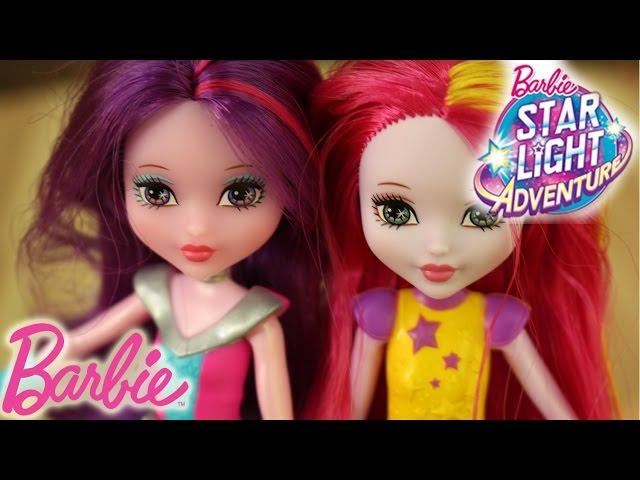 Barbie Gwiezdna Przygoda / Barbie Star Light Adventure - Ratuj Galaktykę z Małymi Bohaterkami Filmu!