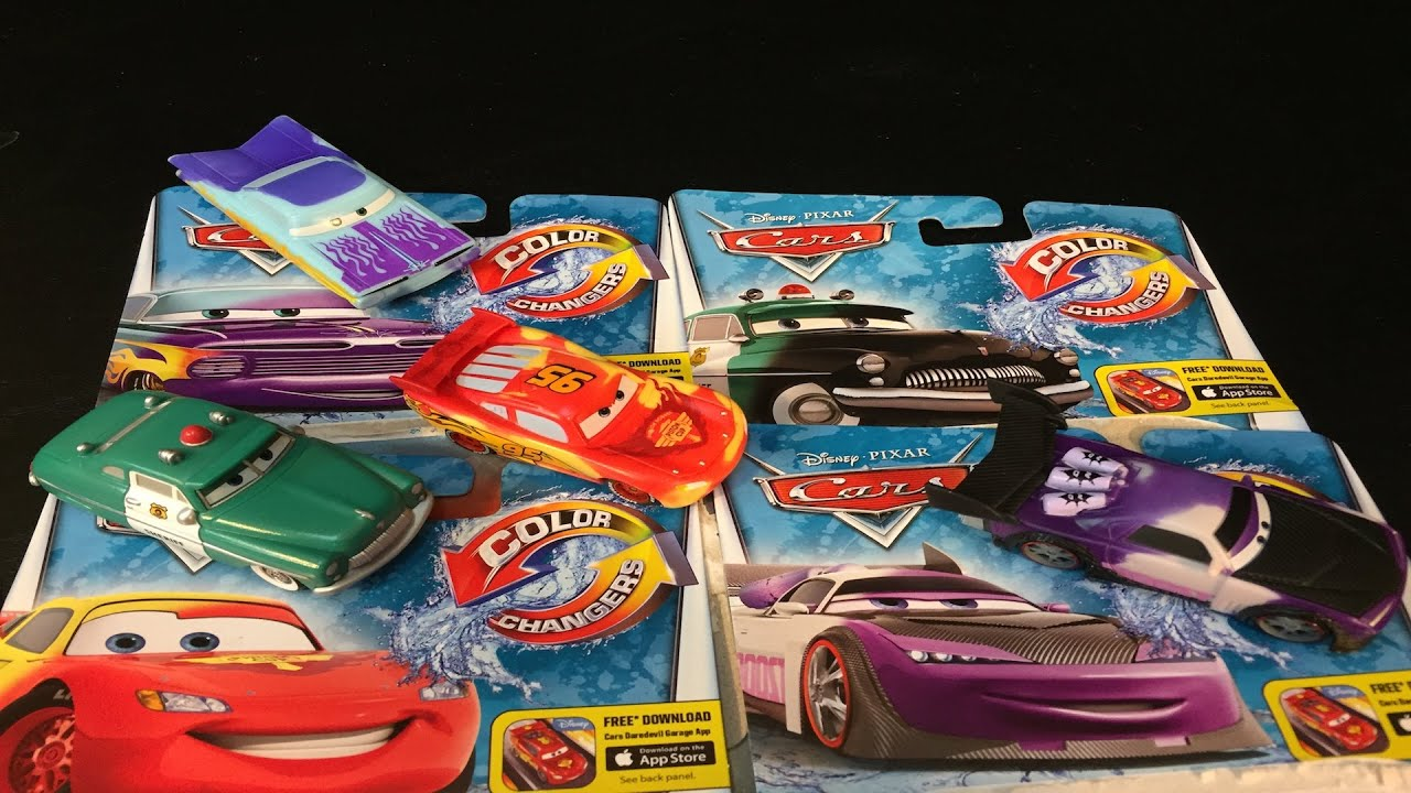 Cars Color Changers: Disney Cars Color Changers Toys Lightning McQueen Sheriff