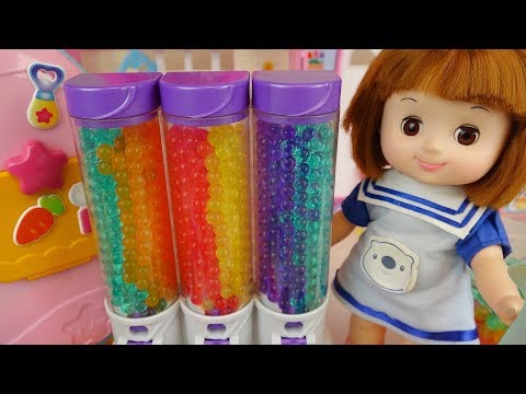Baby Doli and Orbeez food toys baby doll beauty toys play