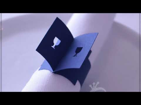 Passover Table Decorations Paper Napkin Rings