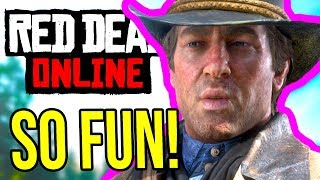 Rockstar FLEXES PVP! New Red Dead Online Update Today Brings Best PVP Mode Yet!