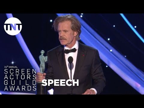 William H. Macy: Acceptance Speech  24th Annual SAG Awards  TNT