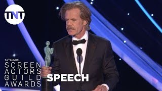 William H. Macy: Acceptance Speech | 24th Annual SAG Awards | TNT