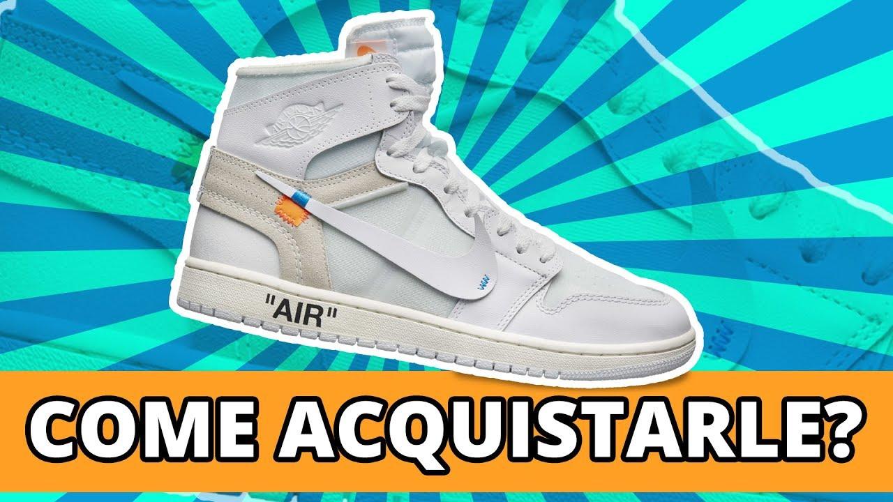 Acquistare X Bianche 1 White Come Youtube Le Off Jordan dg6fxBBwq