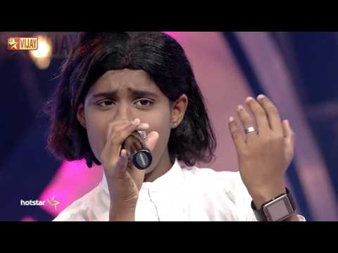 Super Singer Junior - Unnai Kaanadhu Naan by Harikaran