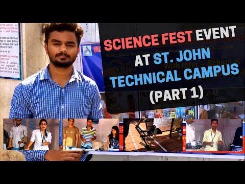 #Vlog 01 - Science fest event at St. John Technical Campus (Part 1)