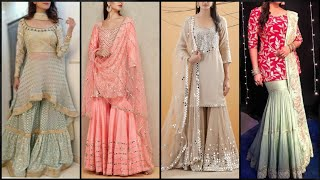 Amazing Sharara Dress Designs In 2020 | Stylish Sharara Suit 2020 | Garara Style 2020