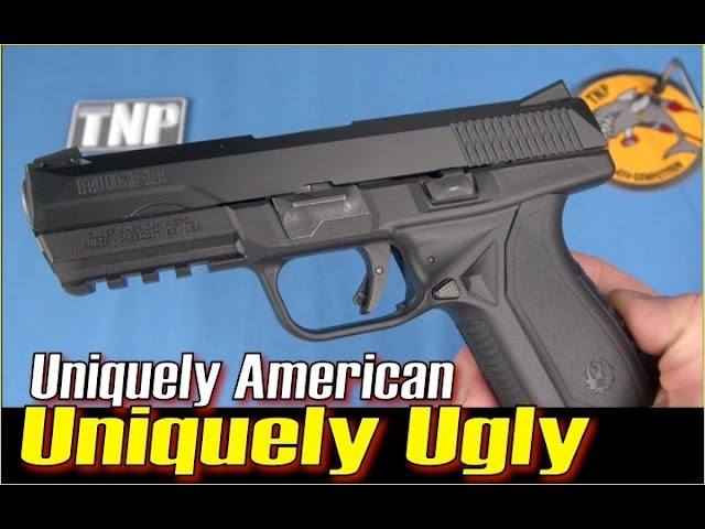 Uniquely American, Uniquely Ugly:  Ruger's New Pistol