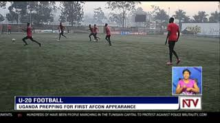 U-20 FOOTBALL: Uganda prepping for first AFCON appearance