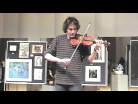 "David Fricke Violin  ""Perpetual Motion""  Nicolo Paganini"