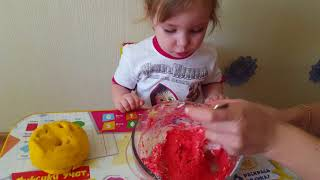 Пластилин Play-Doh  делаем сами в домашних условиях/Тесто для лепки своими руками дома