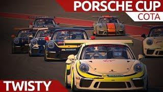 Better combo than you think! Porsche Cup @ COTA