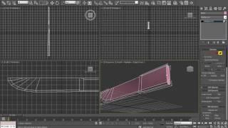Создание 3D модели простого ножа в Max 2010