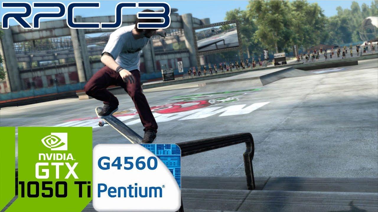 RPCS3 - Skate 3 - GTX 1050 Ti 4GB GDDR5 & Intel Pentium G4560 by Christo  Gevedjov