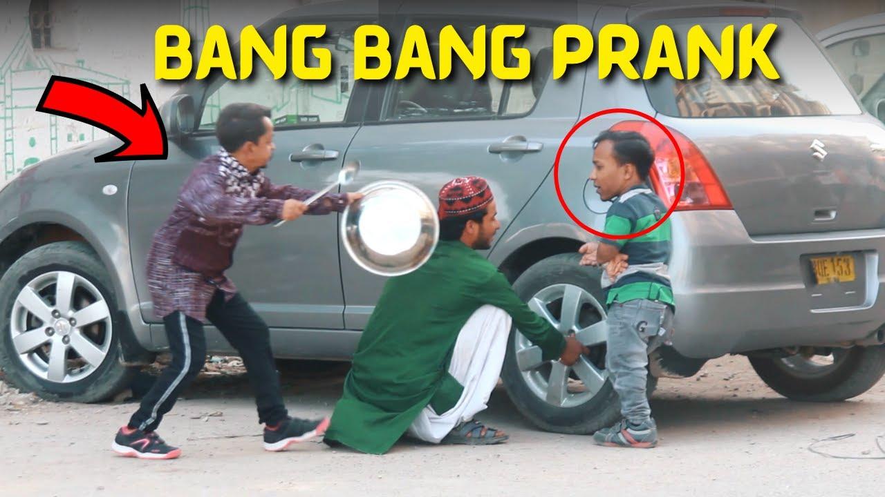 BANG BANG PRANK - Funny Reactions - New Talent Pranks 2021