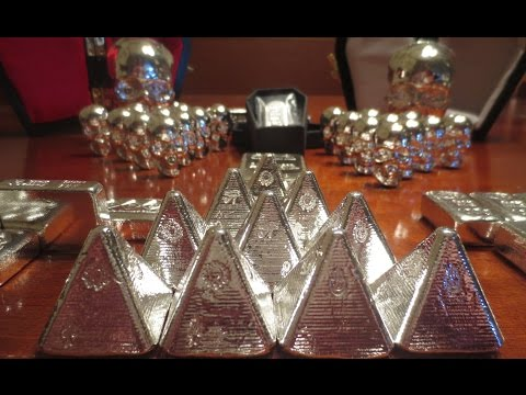 HUGE Unboxing of the Coolest Silver Ever!! YPS Yeager Poured Silver