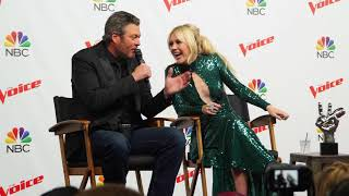 The Voice Finale Press Conference Highlights With Chloe Kohanski & Blake Shelton