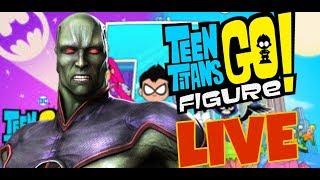 Teeny Titans LIVE Derrotando o torneio do caçador de marte!!!