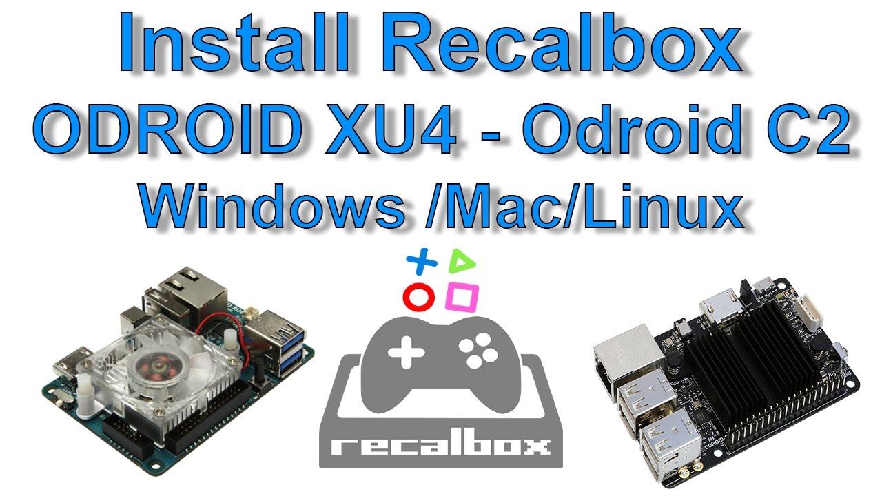 How To Install Recalbox Remix ODROID XU4 - Odroid C2 Windows /Mac/Linux by  ETA PRIME