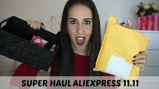SUPER HAUL ALIEXPRESS 11.11