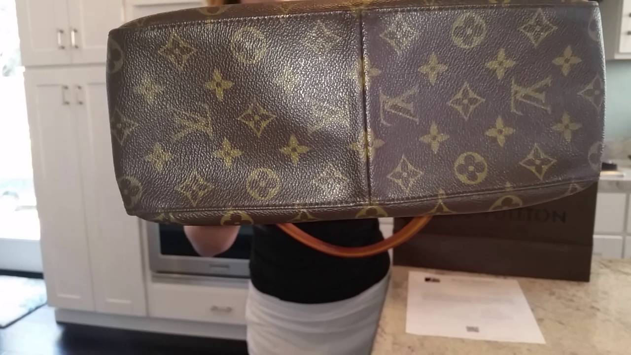 Looping Gm Louis Vuitton Monogram Shoulder Bag
