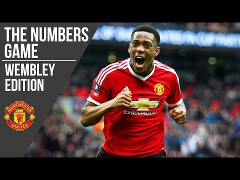 Manchester United at Wembley: The Numbers Game