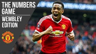 Manchester United at Wembley | The Numbers Game | Manchester United