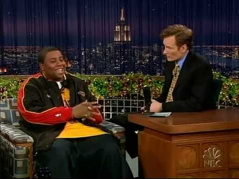 Conan O'Brien 'Kenan Thompson 12/28/04