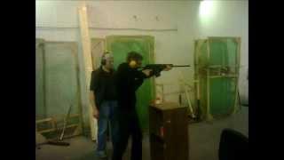 Сдавал экзамен по БОсО Безопасное обращение с оружием