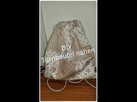DIY – Turnbeutel nähen (kostenloses Schnittmuster)