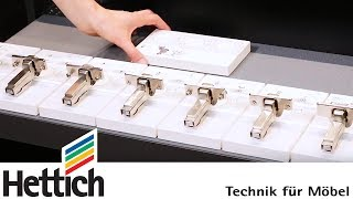 Intermat Hinge Series Technical Briefing By Hettich Youtube