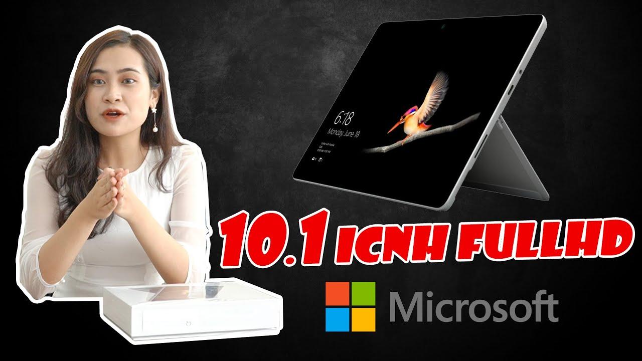 Đánh giá Surface GO | Laptop 10 inch chạy windows nhỏ, gọn, nhẹ nhất