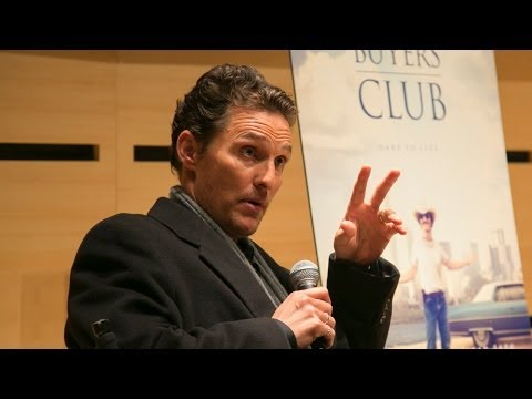 Matthew McConaughey On Starting Out