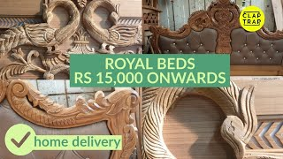 WOODEN BEDS DELHI AND NCR | QUALITY ASSURED