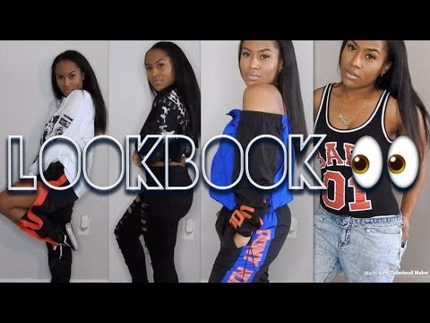 TOMBOYish LOOKBOOK FT. FASHION NOVA , FOREVER21 LOVE CULTURE