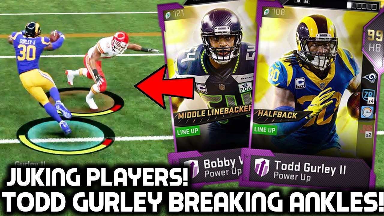 Todd Gurley Breaking Ankles Comes Down To The Last Play Madden 19 Ultimate Team Youtube