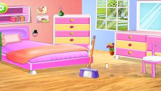 House Cleaning - Home Cleanup Girls Game Walkthrough All Rooms Cleaned screenshot 5